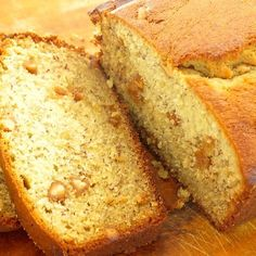 Banana Loaf Cake with Peanut Butter Chips
