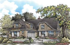 Home Plan The Ridgewater by Donald A. Gardner Architects