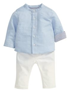 Baby Boys Linen Shirt and Trousers Set, http://www.very.co.uk/mamas-papas-baby-boys-linen-shirt-and-trousers-set/1600027008.prd
