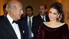 Königin Rania und Giscard D'Estaings bei Gala in Versailles