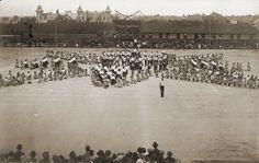 Sokolský slet na hřišti AFK v roce 1914. ( sbírka VS )
