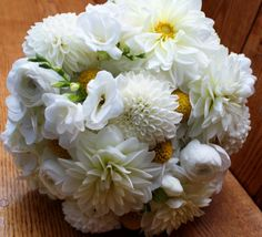 Wedding bouquet by Jeff French Floral and Event Design