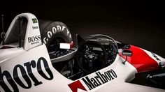 Mclaren Honda MP4/4 - Ayrton Senna Cockpit
