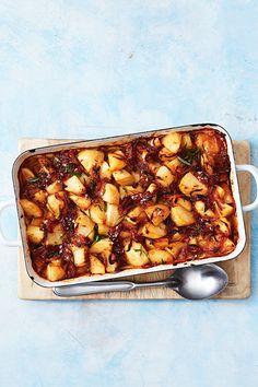 Roasted Potato Recipes, Roasted Potatoes, Vegetable Recipes, New Recipes, Cooking Recipes, Healthy Recipes, Wendy House, Tasty Kitchen, Xmas Food