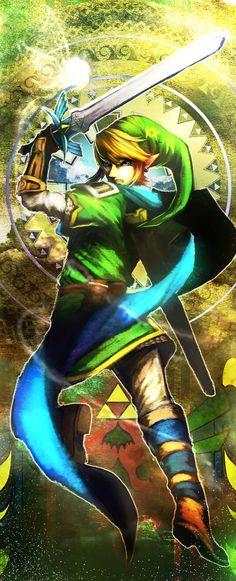 Some Hyrule Warriors fan art.