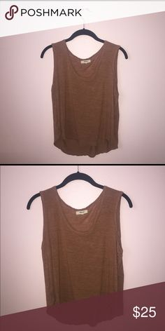 Madewell Rust Tank Rust colored tank top from Madewell. Never worn. Madewell Tops Tank Tops