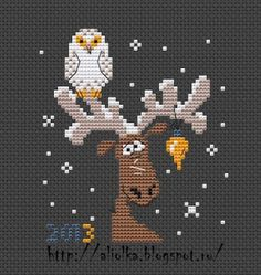 Xmas Cross Stitch, Cross Stitch Christmas Ornaments, Christmas Cross, Cross Stitch Charts, Counted Cross Stitch Patterns, Cross Stitch Designs, Cross Stitching, Cross Stitch Embroidery, Christmas Patterns