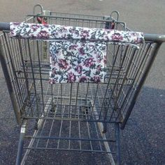 Shopping Cart Cover Shopping Cart Handle by CountryCrafting