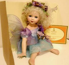 Collectable rare Alberon porcelain fairy doll Isabell with box Collectors Doll | eBay