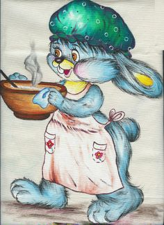 1000 images about mis mandiles pintados on pinterest - Dibujos de cocinas ...