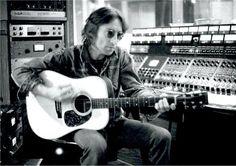 John and his guitar.