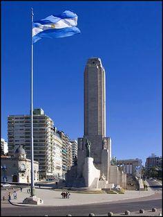 Monumento a la bandera Argentina. Rosario. Santa Fe . Argentina.