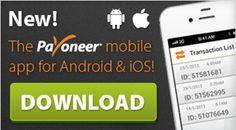 Payoneer(ペイオニア)モバイルアプリ☆ iOSと Android!