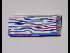 Polymer Clay Cane - Random Uneven Stripes - YouTube