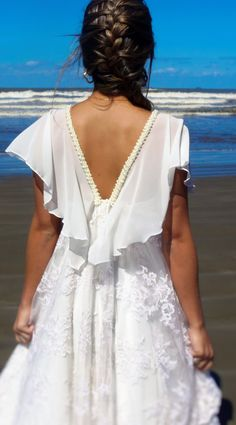 noiva, casamento boho, vestido de noiva, casamento na praia, ateliê bia ferrazzi, vestido de renda