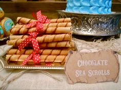 (Chocolate sea scrolls, buccaneer brew, walk the plank cookies, chips ahoy there matey.) Oh Sugar Events: Shiver Me Timbers
