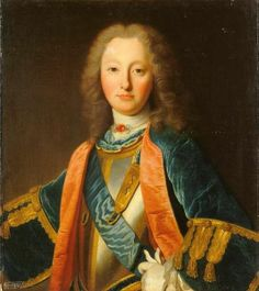 Louis Charles de Bourbon Comte de Eu, son of Duc du Maine and grandson of Louis XIV, 1715