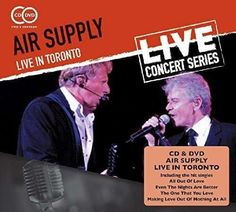 AIR SUPPLY LIVE IN TORONTO CD+DVD 2015