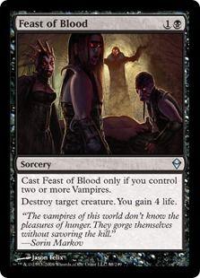 4 Feast of Blood ( Vampire Deck )