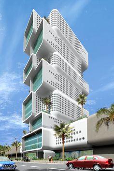 Sinergia Tower (Dubai, UAE) | @vedrinamostar #vedrinamostar