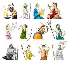 Griechische Götter   von Matthias Pflügner