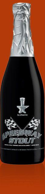 Alesmith Speedway Stout. My favorite dark beer.