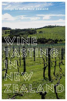 Wine Tasting in New Zealand, Waiheke Island wineries, New Zealand Sauvignon Blanc, Marlborough Sauvignon Blanc, Martinborough New Zealand