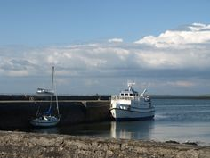 queen of aran, ballyvaughan on a fine day County Clare, Boats, Ireland, Queen, Places, Travel, Viajes, Ships, Show Queen