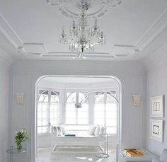 A elegância da decoração clássica