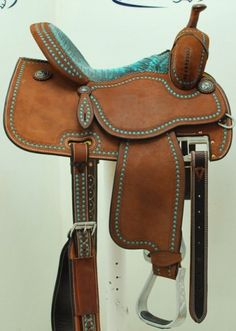 "Coolhorse - New! 14"" Crown C by Martin Saddlery Barrel Racing Saddle."