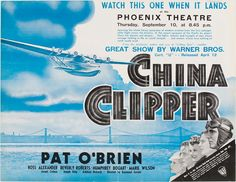 When Pan American Airways established the first transpacific commercial air service between North America and Asia in 1935, the airline and its flying boats captured the imagination of a generation. In 1936, Hollywood paid tribute to Pan Am's achievement with the release of the Warner Brothers movie China Clipper, using the name of one of the airline's famous Martin M-130 flying boats that became synonymous among the public with all of Pan Am's early Pacific fleet.
