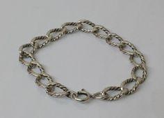 Vintage Armschmuck - Armband Gliederarmband Silber 835 Vintage SA239 - ein Designerstück von Atelier-Regina bei DaWanda