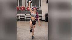 Sasha Banks' Dumbbell Snatch Video Thumbnail