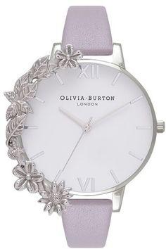 Olivia Burton Case Cuff Leather Strap Watch, jewelry watches for women Fancy Watches, Trendy Watches, Elegant Watches, Beautiful Watches, Luxury Watches, Watches For Men, Women's Watches, Olivia Burton, Hand Watch