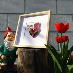 """Quilling rainbow heart quilling baby girl love  all_art_21 on Instagram: """"👧🏻 """"BabyGirlStep"""" 👣 #babygirl #midget #redtulips #quilling #love . . . . . . #ipreview via @preview.app #quillingart #quillingcreations…"""" Red Tulips, Rainbow Heart, Quilling Art, All Art, Artworks, Instagram, Frame, Decor, Picture Frame"""