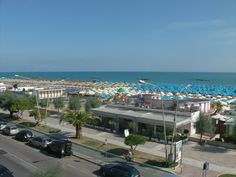 view from the Carlton Hotel, Pescara, Abruzzo, Italy