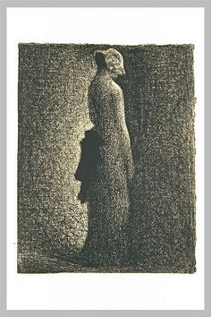 The Eiffel Tower - Georges Seurat - WikiArt.org