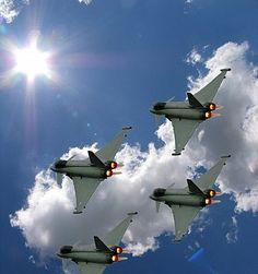 Euro Fighter: Typhoon Military Jet Public Photo