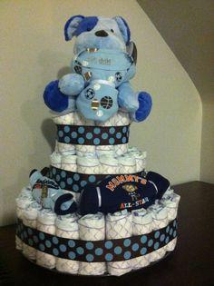 DIY Baby Shower Gift..Diaper Cake