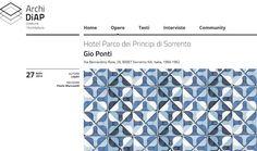 I maestri dell'architettura e del design #GioPonti https://www.youtube.com/watch?v=ko2UYlBId9A