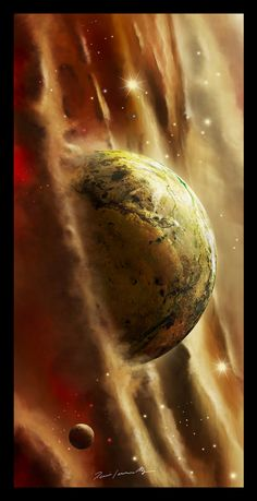 Quantum, #Paintings & #Airbrushing, #Planet, #Space, #Spacescapes