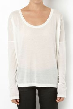 wear the pants long sleeved tee / sass & bide