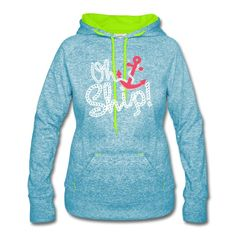 OH SHIP! - Women's Speckled Hoodie