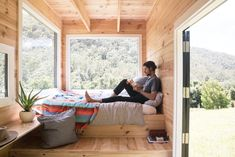 Unyoked offers four tiny houses in Sydney, as well as two in Melbourne. All of the properties are set in thoughtfully chosen sites of natural beauty. #tinyhome #rental #vacationhome #mobilehome