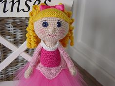 Aurora crochet pattern by DutchDollDesign on Etsy