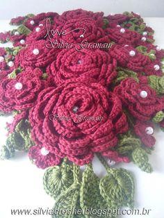 Meu Jardim ♥ - Silvia Gramani Croche