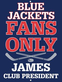 Blue Jackets Custom Personalized Bar Sign  by thepersonalizedstore #ManCave #FathersDay #Groomsmen