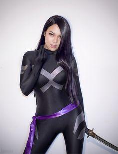 Psylocke cosplay X Men – Cosplays Cosplay Marvel, Male Cosplay, Cosplay Girls, X Men Costumes, Cosplay Costumes, Katana Girl, Avatar Cosplay, Superhero Villains, Psylocke
