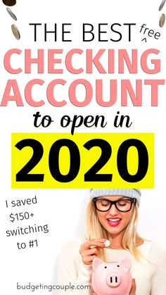 The Best (free) Checking Accounts💰 to Open in Build Your Savings Best Money Saving Tips, Money Tips, Saving Money, Money Hacks, Save Money On Groceries, Groceries Budget, Money Budget, Earn Free Money, Frugal Living Tips