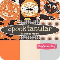 Spooktacular Fat Quarter Bundle Maude Asbury for Blend Fabrics